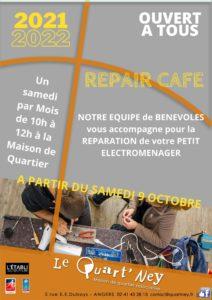 REPAIR CAFE lancement oct 21